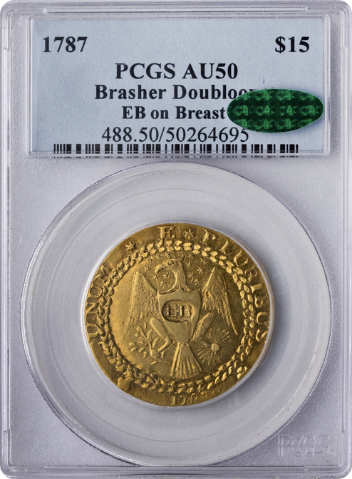 The 1787 Brasher Doubloon